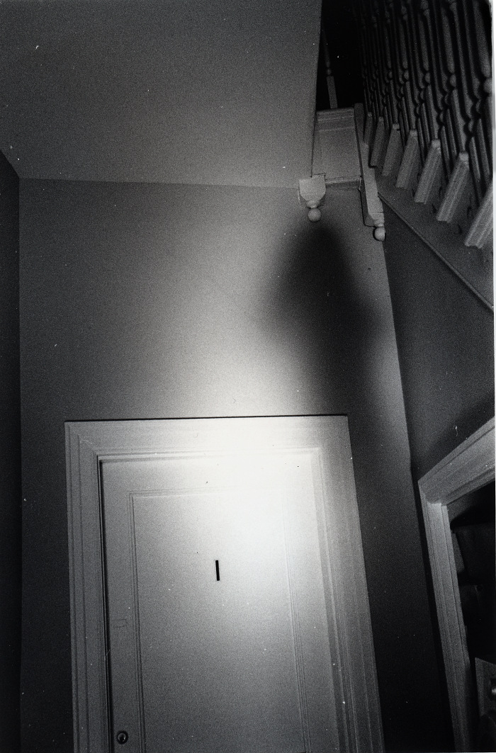 ghost self-portrait